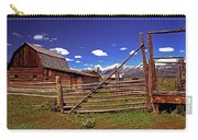 Gambrel Barn And Tetons Carry-all Pouch
