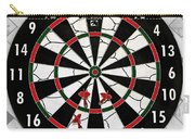 Game Of Darts Anyone? Carry-all Pouch by Kaye Menner
