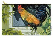 Gamecock And Hen Carry-all Pouch