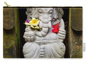 Ganesh Hindu God Statue In Bali Indonesia Carry-all Pouch