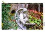 Garden Angel Statue Carry-all Pouch