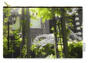 Garden Arbor In Sunlight Carry-all Pouch by Elena Elisseeva