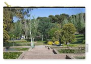 Garden At Montjuic In Barcelona Carry-all Pouch