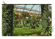Garden Atrium In Shadow Carry-all Pouch