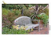 Garden Benches 3 Carry-all Pouch
