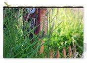 Garden Birdhouse Carry-all Pouch