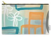 Garden Chair Carry-all Pouch by Linda Woods
