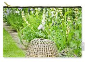 Garden Decoration Carry-all Pouch by Tom Gowanlock