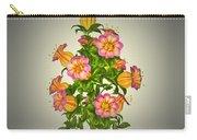 Garden Flowers 6 Carry-all Pouch