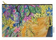 Garden Flowers In A Pot Carry-all Pouch