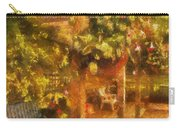 Garden Flowers With Bench Photo Art 01 Carry-all Pouch