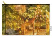 Garden Flowers With Bench Photo Art 02 Carry-all Pouch