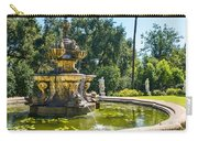 Garden Fountain - Iconic Fountain At The Huntington Library And Botanical Ga Carry-all Pouch