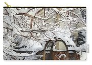 Garden Gate In Winter Carry-all Pouch
