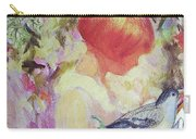 Garden Girl - Antique Collage Carry-all Pouch