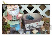 Garden Gnome - Square Carry-all Pouch