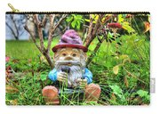 Garden Gnome Under A Bush Carry-all Pouch
