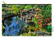Garden Goldfish Pond Carry-all Pouch