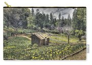 Garden Houses On Daffodil Hill  Carry-all Pouch