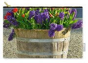 Garden In A Bucket Carry-all Pouch by Eti Reid