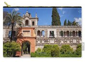 Garden In Alcazar Palace Of Seville Carry-all Pouch