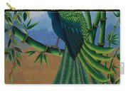 Garden Jewel 1 Hand Embroidery Carry-all Pouch