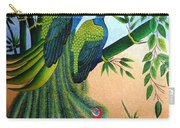 Garden Jewel II Hand Embroidery Carry-all Pouch