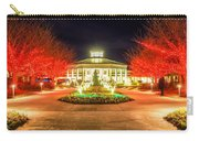Garden Night Scene At Christmas Time In The Carolinas Carry-all Pouch