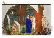 Garden Of Eden: Adam & Eve Carry-all Pouch
