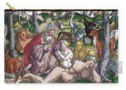 Garden Of Eden Historiae Animalium Carry-all Pouch