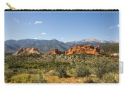 Garden Of The Gods And Pikes Peak - Colorado Springs Carry-all Pouch