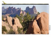 Garden Of The Gods And Red Rocks Open Space Carry-all Pouch