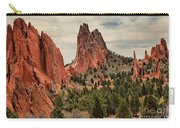 Garden Of The Gods Jagged Peaks Carry-all Pouch