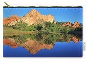 Garden Of The Gods Reflecting Carry-all Pouch by Diane Alexander