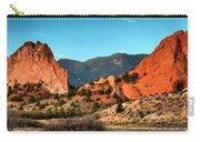 Garden Of The Gods Sunrise Panorama Carry-all Pouch