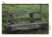 Garden Park Bench Carry-all Pouch