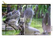 Garden Sculpture Carry-all Pouch