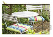Garden Seating Area Carry-all Pouch