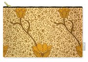 Garden Tulip Wallpaper Design Carry-all Pouch by William Morris
