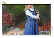 Garden Visitors Carry-all Pouch by Donna Tucker