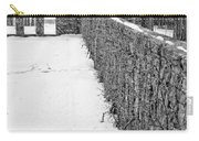 Garden Wall The Mount In Winter Carry-all Pouch