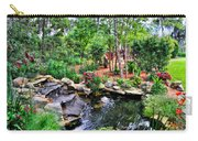 Garden Waterfall And Pond Carry-all Pouch