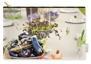 Garden Wedding Table Carry-all Pouch