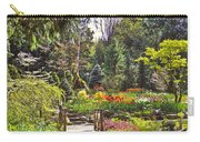 Garden With A Bridge Carry-all Pouch