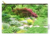Garden With Japanese Maple Carry-all Pouch