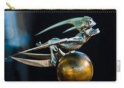 Gargoyle Hood Ornament Carry-all Pouch by Jill Reger