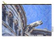 Gargoyle On Sacre Coeur Carry-all Pouch