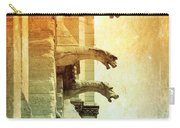 Gargoyles With Textures And Color Carry-all Pouch