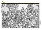 Gart Der Gesuntheit, 1485 Carry-all Pouch