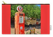 Gas Pump At Embudo Gas Museum Carry-all Pouch